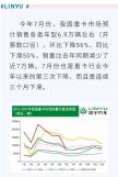 """【重卡新闻】遭遇""""三连降""""的重卡市场,7月份销量同比下降5成!"""