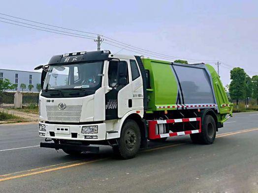 12方國六解放J6L壓縮垃圾車廠家推薦車型報價