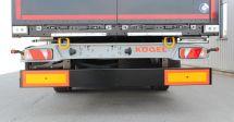 防撞桿高度降至450mm歐盟進一步提升掛車尾部防護要求