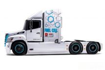 日野卡車推出首款氫燃料電池牽引車