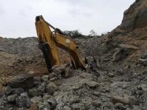 挖掘機施工發生坍塌事故致挖掘機駕駛員死亡