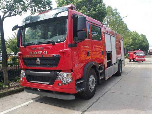 8噸重汽T5G泡沫消防車配置怎么樣