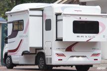 上汽大通MAXUS生活家V100房车曝光,近期上市!智能科技或将成为升级重点!