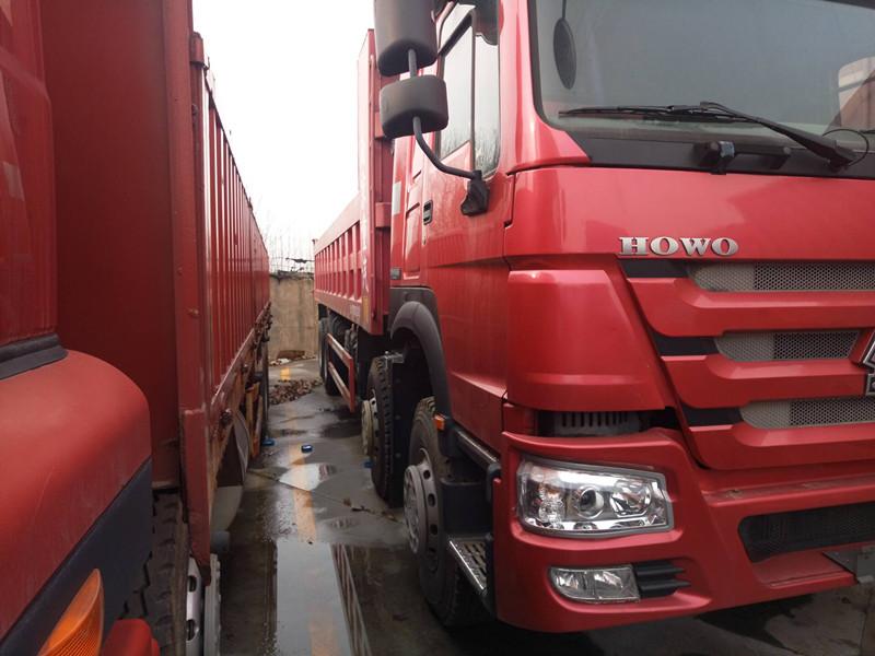 豪沃国五8.2米自卸车