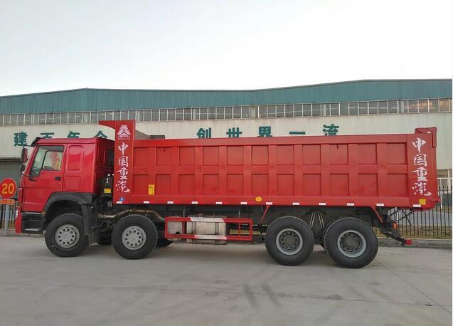 豪沃国二7.3米自卸车