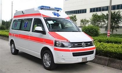 进口大众凯路威救护车