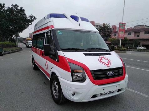福特V348新世代长轴高福星顶救护车