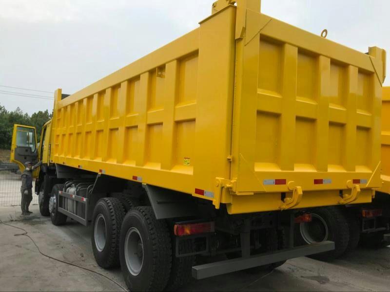 豪沃国二7.8米自卸车