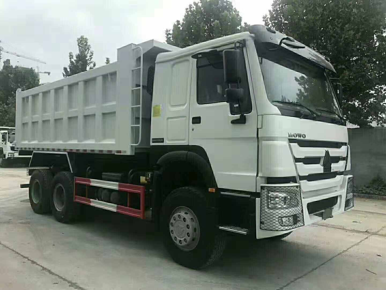 豪沃国二5.6米自卸车