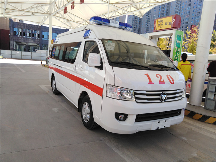 福田救护车-转运型