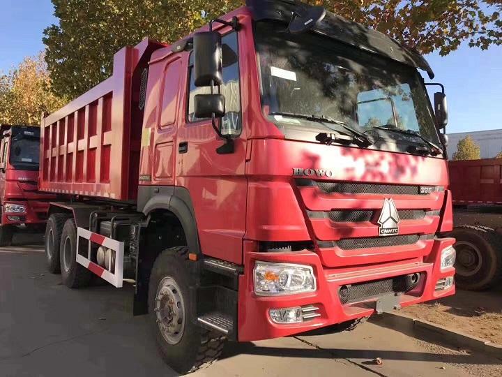 中国重汽豪沃336马力自卸车