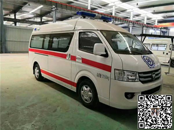 福田G7高顶救护车汽油版