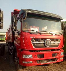 重汽新款斯太尔380马力自卸车5.8米