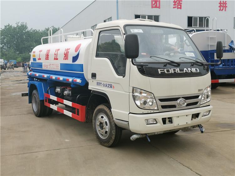 福田时代小卡之星5吨园林绿化洒水车