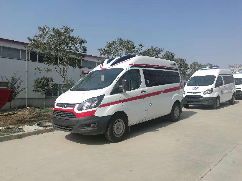 新全顺V362监护型救护车