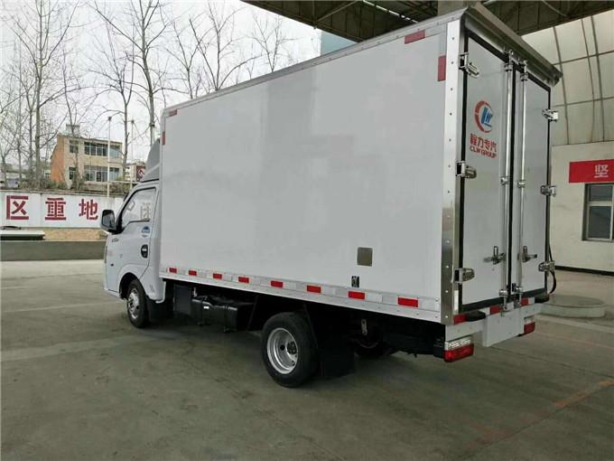 东风途逸冷藏车—3.5米货箱小型冷藏车