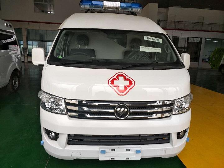 出口福田G9右舵救护车