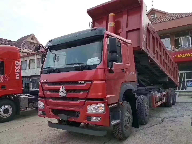 豪沃国五8.5米自卸车