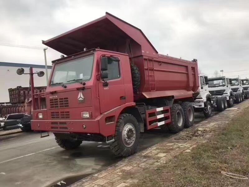 豪沃矿山霸王70矿自卸车