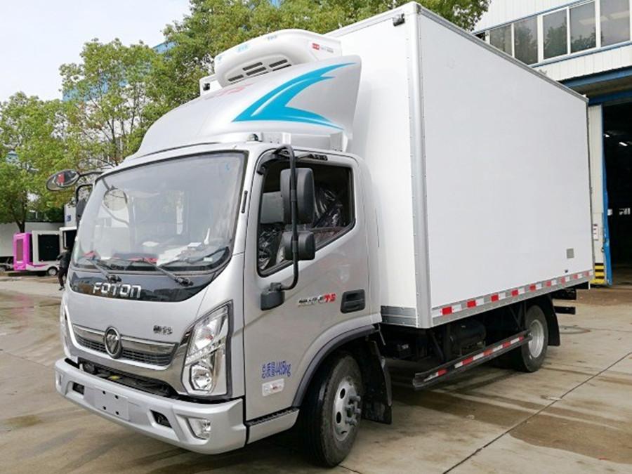 福田奥铃CTS宽体4.2米冷藏车