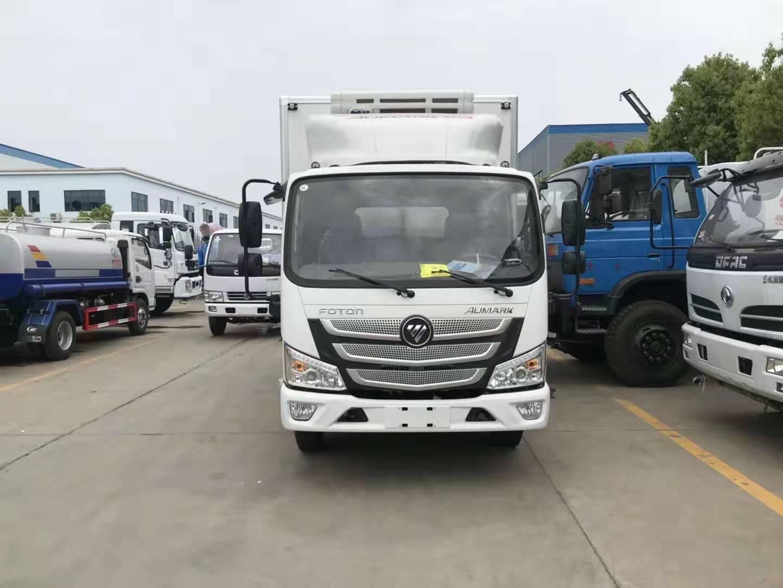 福田欧马可S3冷藏车 4.2米冷藏车