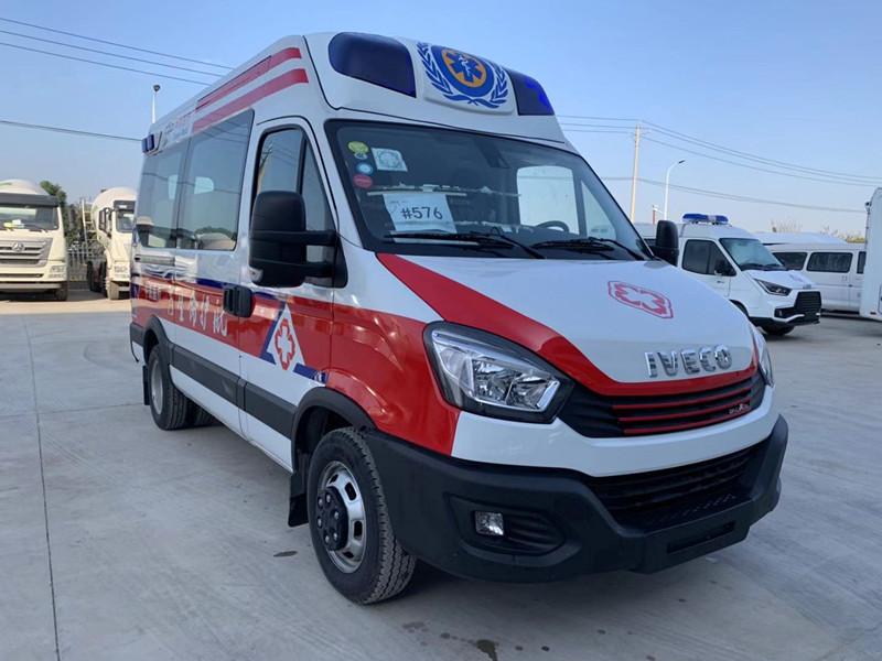 依维柯欧胜高端监护型救护车