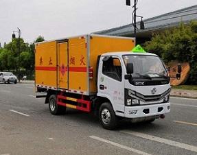 东风多利卡国六4.1米爆破器材运输车