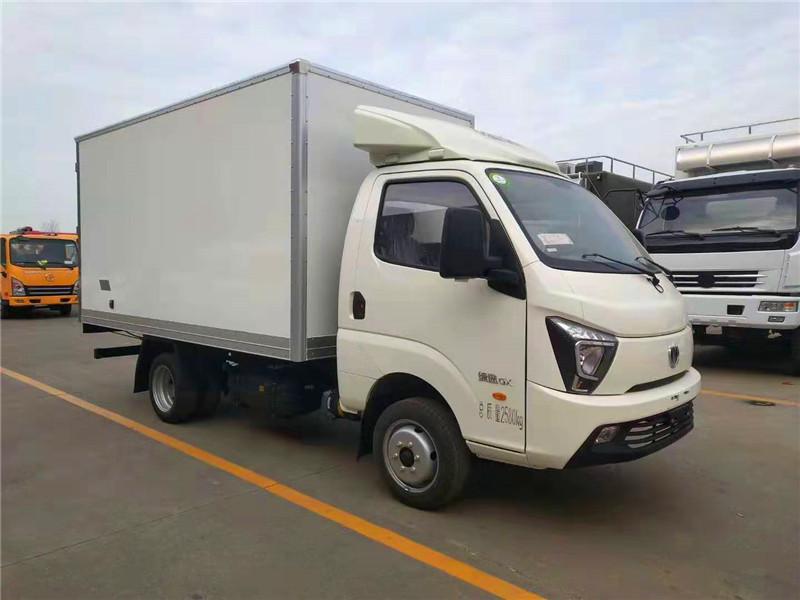 飞碟缔途国六汽油冷藏车-3.5米厢式保鲜车