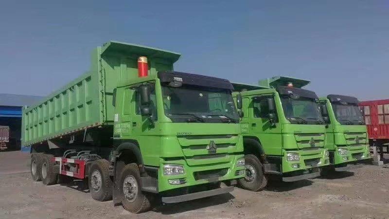重汽豪沃7米8自卸车