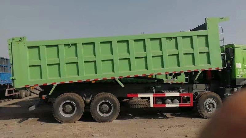 重汽豪沃8.5自卸车