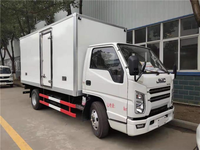 江鈴順達4.2米鮮奶鮮肉冷鏈運輸冷藏車