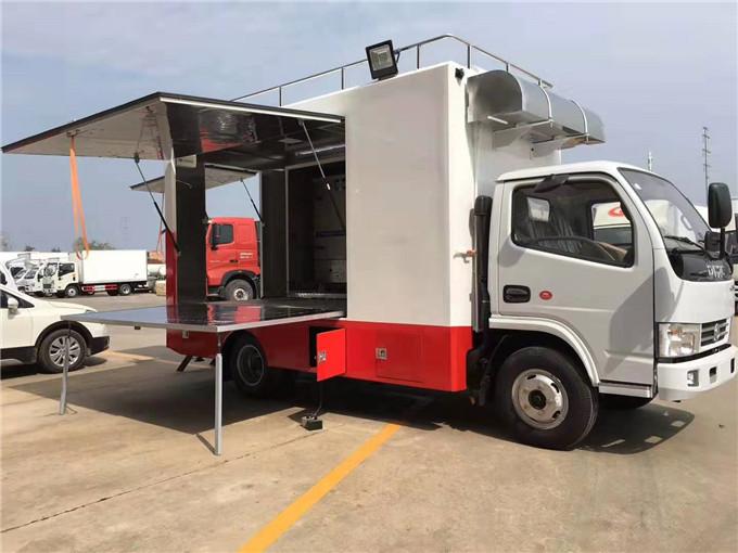 东风多利卡餐车可做农村车载厨具红白喜事餐饮车