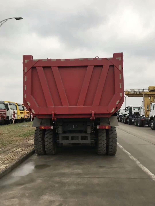 重汽豪沃70礦山自卸車