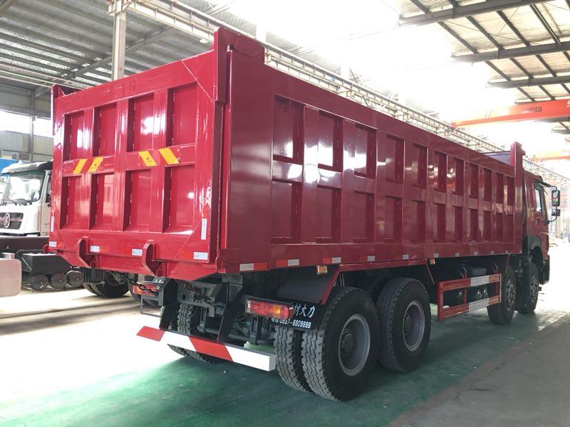 豪沃8.2米自卸车