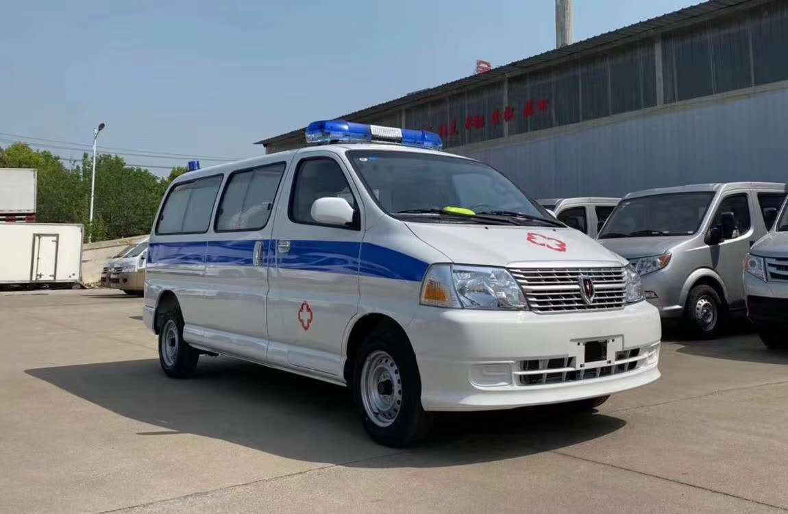 金杯新快运国六救护车