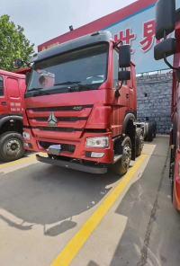新火红,;HOWO7;自卸车底盘,可做6.5-6.8米