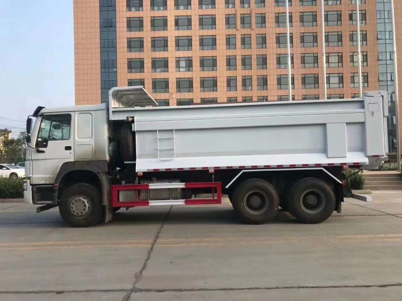 多臺380馬力豪沃6米渣土車預留軌道槽, 配置:HOWO 7 ;自卸車;