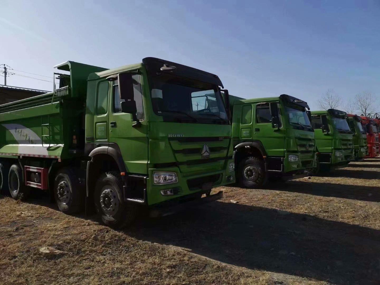 重汽豪沃380马力5.6米渣土车,豪沃自卸车