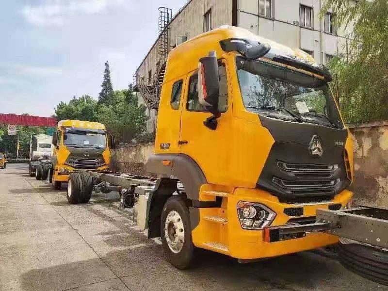 豪瀚国五9.6米载货车,可做高栏,冷藏,箱货,平板等