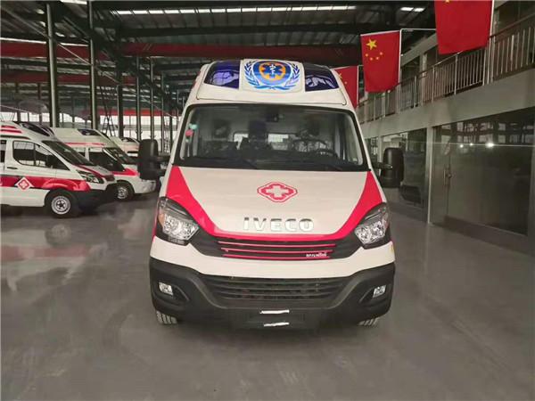 依维柯负压救护车 国六监护型急救车 120急救抢险车