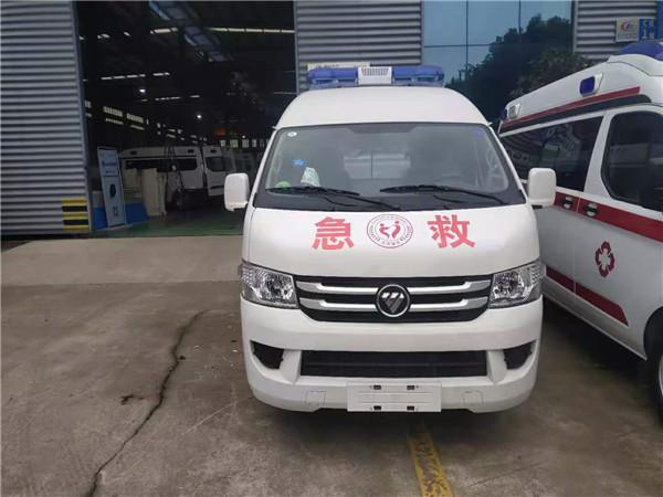 福田G7救护车 监护型负压救护车 中轴中顶医疗急救车