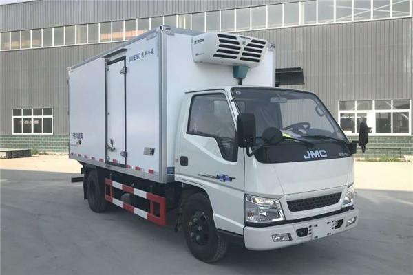 江铃4.2米冷藏车 江铃福特面包冷藏车 冷藏品运输车