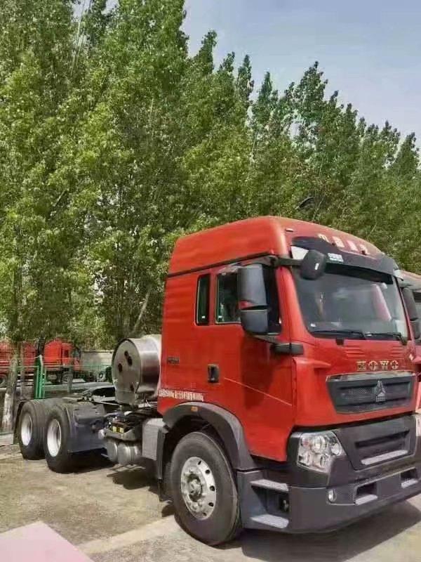重汽TX牵引车L000L气瓶水晶红