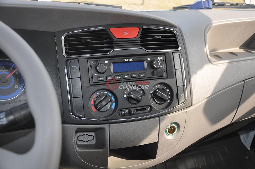 东风多利卡D6洒水车驾驶室图片-中控系统