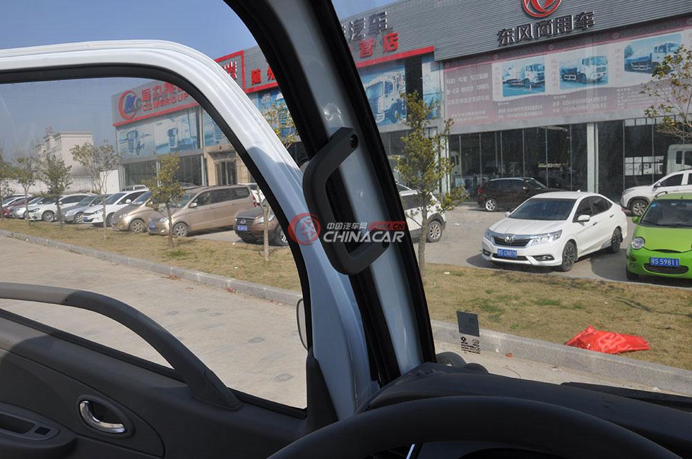 东风多利卡D6洒水车驾驶室图片-车门扶手