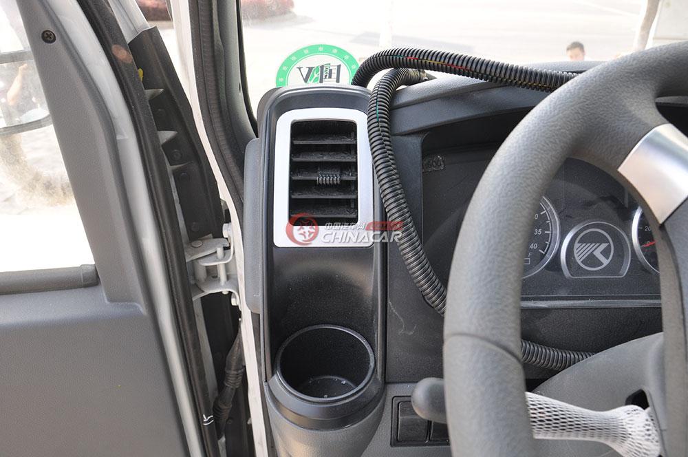 凯马福运来压缩式垃圾车驾驶室图片-空调出风口