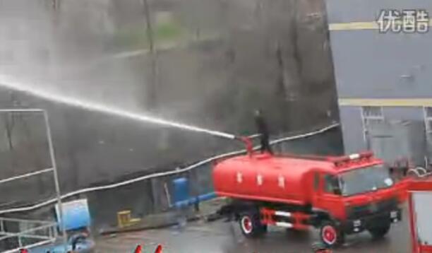 水罐消防车视频
