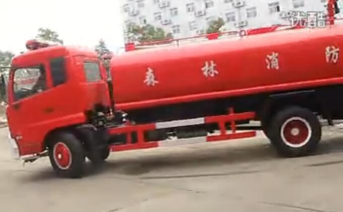 东风消防车视频