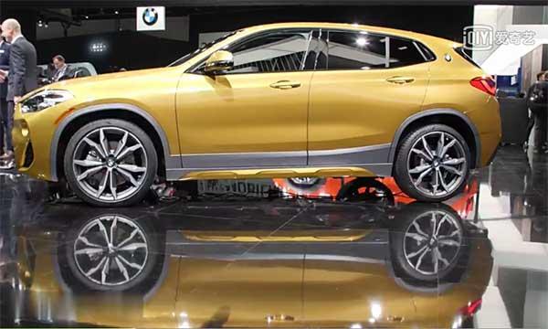 2018北美车展 :宝马X2跨界SUV首发