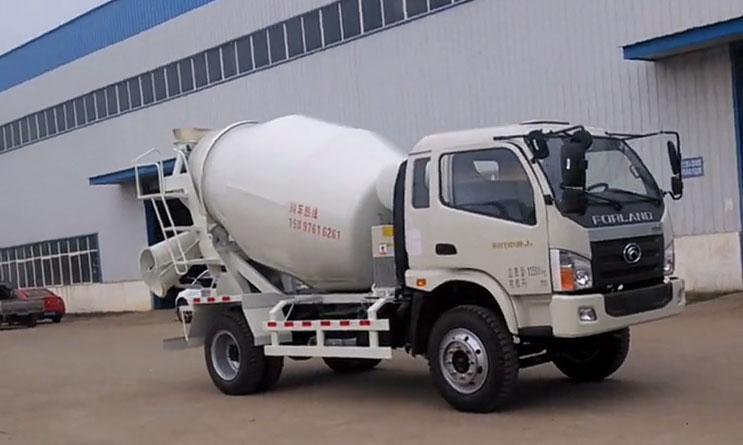 攪拌車多少錢農村建房子用水泥罐車品牌重汽6方攪拌車